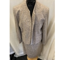 The Dunedin Tradition Skirt & Jacket Suit Beige Size: 16