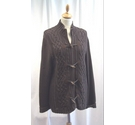 Jeanne Pierre Cardigan Brown Size: L