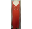 Portrait Dress with cover up Red Size: 22