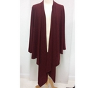 Mr Max waterfall cardigan Red Size: XXXL