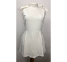 Daphnea Paris Playsuit White Size: S