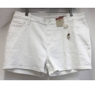 M&S Marks & Spencer Denim shorts Brand New White Size: 38""