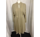 Vintage Lerose Dress & Jacket Beige Size: 16