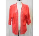 Pia Rossini Resort Wear beach cover up coral Size: One size: regular