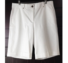 M&S Marks & Spencer Shorts Per Una White Size: 34""
