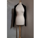 35 Bolero Cardigan Black Size: One size: regular