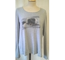 G.W Long Sleeved Top Grey Size: 16