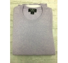 "Brooks Brothers Crew Neck Cashmere Jumper 48"" Lilac Purple Size: XL"