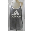 Adidas sports wear top gray and white Size: XL