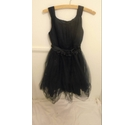 BHS Marylebone Party/Bridesmaid Dress Navy Size: 10 - 11 Years
