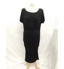 Isabella Oliver Maternity Dress Black Size: 12