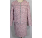 Skirt & jacket two piece Women's skirt suit. Pink mix Size: 16