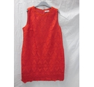 Debenhams RED LACE Size: 12