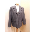 Daxon Grey suit jacket Grey Size: 18
