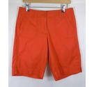 M&S Marks & Spencer Shorts Orange Size: 8