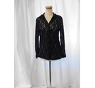 Essentials Formal Lacy Cardigan Black Size: 10