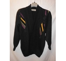 excel london paris vintage cardigan black Size: M