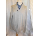 north coast brand new top shirt/jumper combo beige with blue Size: XL