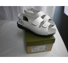 HOTTER TWO STRAP OPEN TOE SANDALS WHITE Size: 5