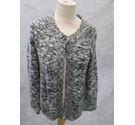 Poppy Cardigan Grey Size: 12