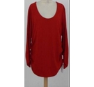 Isabella Oliver Long-line Jersey-knit Top Red Size: 6
