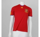 Spain International 2009 - 2010 Home Shirt Red Size: S