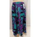 Reflections pleated skirt Turquoise mix Size: M