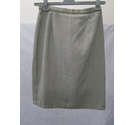 Unbranded vintage pencil skirt grey and white Size: 10