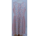 Johnnie B Floral Dress Pink & White Size: 13-14 years