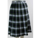 Perry Clothes Vintage 80's Pleat Skirt Green Check Size: 8