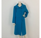 Peggy French Swing Coat Blue Size: 16