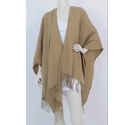 M&S Collection NWOT Fringed Shawl Camel Size: One size: regular