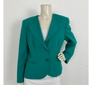Windsmoor Blazer with Detailed Lapel Green Size: 16