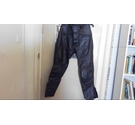 Lewis leather motorcycle trousers Black Size: 34""