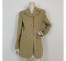 Mulberry Tailored Jacket Beige Size: 12