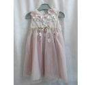Monsoon Flowery Dress with bow at the back Pink Size: 6-9 months