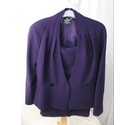 HOBBS TWO PIECE SUIT PURPLE Size: 12