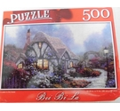 BRAND NEW!!! A Cabin in the Forest Mini Jigsaw