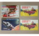 Free Postage - 4 x Brooke Bond Tea Card Albums - Transport Themed