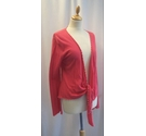 Ochre Wrap around Cardigan Pink Size: M