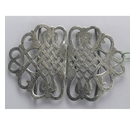 Vintage Silver plated nurses buckle