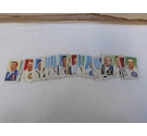 40 Player's Cigarette Cards Cricketers 1938