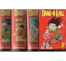 Dragon ball Vols 1 to 3 & 5 x4 books