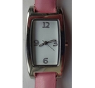 M&S ladies dress watch with pink strap.