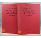 Biological Drawings With Notes Part 1 and Part 2 (Two Volumes)
