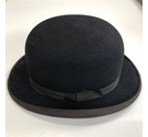 Dunn & Co Bowler Hat Size 7 Black Size: One size