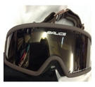 Salice Yellow Tinted Goggles Brown Size: One size: regular