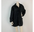 Barbour Quilted Coat Black Size: L
