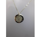 Next BNIB Necklace Silver Plated 17""