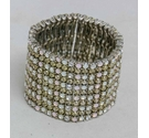 Vintage Stretch Diamante Bracelet
